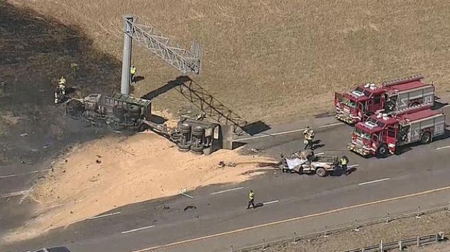 Dos muertos en accidente en I-635