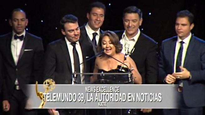 """KXTX Telemundo 39 ganó 17 """"Lone Star Emmys Awards"""""""