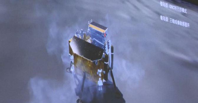 [VIDEO] China hace historia llegando a la cara oculta de la Luna